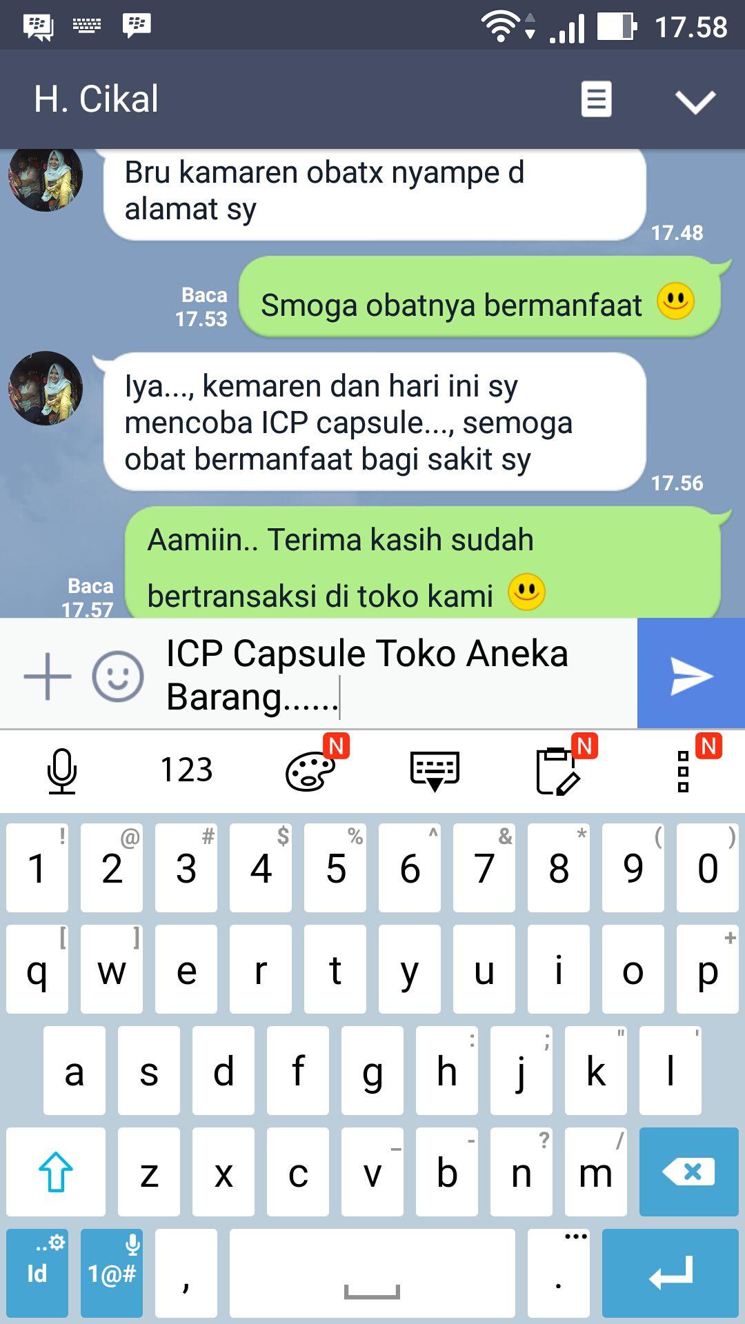 testimoni ICP